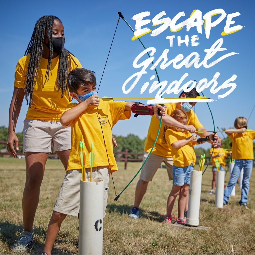 Escape the Great Indoors archery